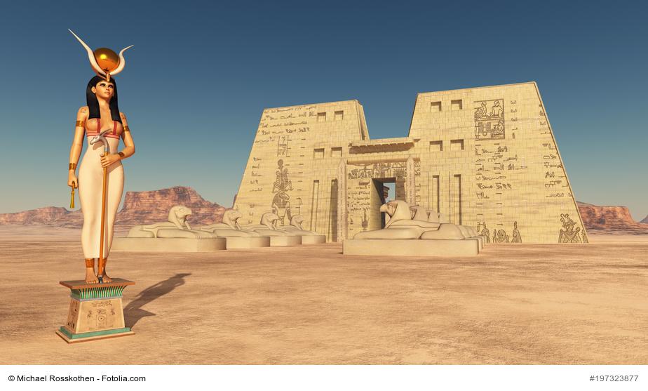 Götter und Göttinnen aus der ägyptischen Mythologie - Symbolbild