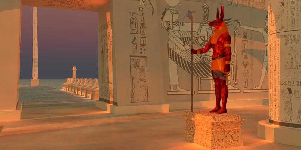 Seth - altägyptischer Gott der Wüste und des Chaos